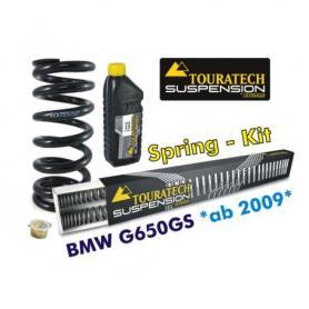 Ressorts de rechange progressifs Hyperpro pour fourche et ressort-amortisseur, *BMW G650GS >2009*