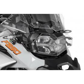 Protector de faros makrolon con cierre de liberación rápida para BMW F850GS Adventure