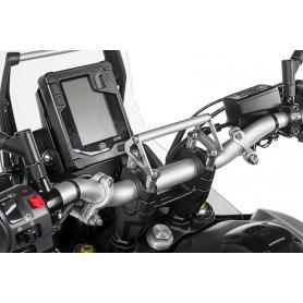 Adaptador de soporte GPS para elevaciones de manillar de 20 mm para Yamaha Tenere 700