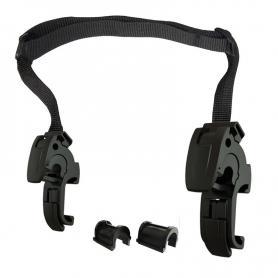 Juego de montaje 16mm, con insertos 8,10,12mm para bolsa lateral ENDURANCE Click, by Touratech Waterproof