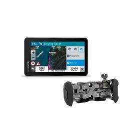 Pack GPS Garmin XT con soporte con cerradura de Touratech