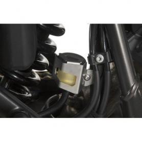 Cache réservoir de liquide de frein, arrière pour le Ducati Multistrada 1200 jusqu'a 2014 et BMW F650GS / F650GS Dakar / G650GS / G650GS Sertao, KTM 1050 Adventure, 1090 Adventure, 1290 Super Adventure, 1190 Adventure(R)