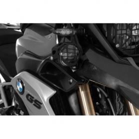 Jeu de phares supplémentaires à DEL antibrouillard/antibrouillard noir pour BMW R1250GS/ R1200GS à partir de 2013