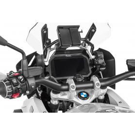Protection antivol TFT pour BMW R1250GS / R1250GS ADV / R1200GS (LC) / R1200GS ADV (LC) (2017-) - acier inoxydable avec visière