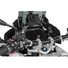 Protection antivol TFT pour BMW R1250GS / R1250GS ADV / R1200GS (LC) / R1200GS ADV (LC) (2017-) - aluminium avec visière