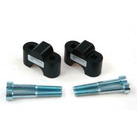 Réhausseurs de guidon 25 mm TYP 7 pour BMW et Honda avec guidon de 22 mm