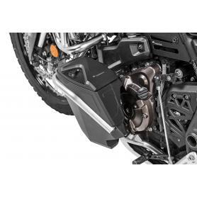 Boîte à outils avec barre de protection pour la main gauche pour Yamaha Tenere 700