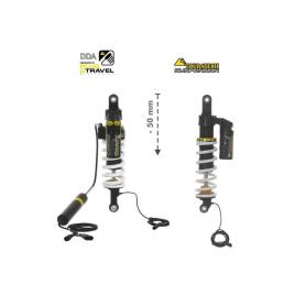 Kit de suspension abaissée -50mm DDA / Plug & Travel pour BMW R1200GS LC / R1250GS (2017-)