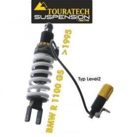 Touratech Suspension ressort-amortisseur *arrière* pour BMW R1100GS á partir de 1995 de type *Level2*