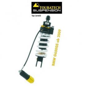 Touratech Suspension ressort-amortisseur pour BMW F650GS à partir de 2009 de type Level2/ExploreHP