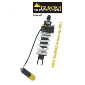 Touratech Suspension ressort-amortisseur pour BMW G650GS Sertao à partir de 2011 de type Level2/ExploreHP