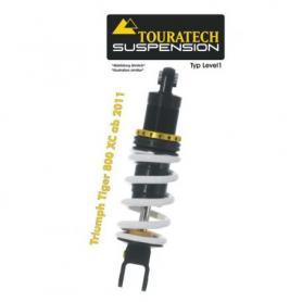Ressort-amortisseur de suspension Touratech pour Triumph Tiger 800 XC (2011-2014) Typ Level1