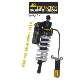 Ressort-amortisseur de suspension Touratech pour KTM 990 SM-R (2009-2012) Typ HighEnd