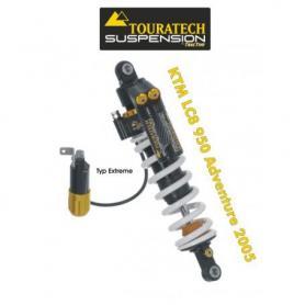 Ressort-amortisseur de suspension Touratech *arrière* pour KTM LC8 950 Adventure à partir de 2005 type *Extreme*