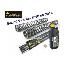 Ressorts de fourche progressifs, Suzuki V-Strom 1000  à partir de 2014 Touratech Suspension