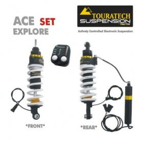 Touratech ACE Suspension *Explore* SET pour BMW R1150GS Adventure à partir de 2002