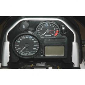Cache pour cockpit 2 *unité tachymètre* avec 2 prises de courant BMW R1200GS (2008-2012)/R1200GS Adventure (2008-2013)