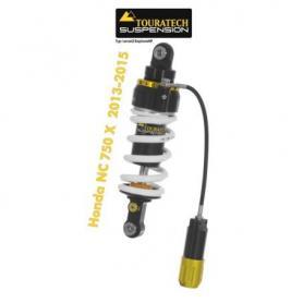Touratech Suspension ressort-amortisseur pour Honda NC750x à partir 2013-2015 de type Level2/ExploreHP