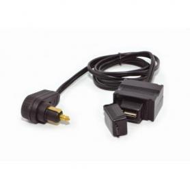 Câble USB pour la sacoche de réservoir avec prise angulaire pour la prise de bord