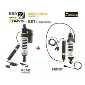 KIT de suspension Touratech Plug & Travel-ESA Expedition pour BMW R1200GS, modèles 2010-2013