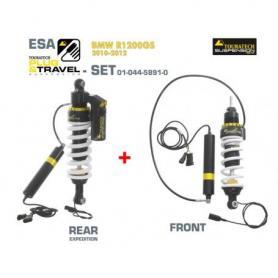 KIT de suspension Touratech Plug & Travel-ESA Expedition pour BMW R1200GS, modèles 2010-2014