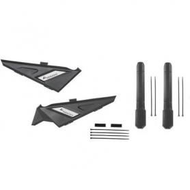 Set caches latéraux et protection du cadre, petit, pour BMW R1250GS/ R1200GS (LC)/BMW R1200GS Adventure (LC), (gauche et droit)