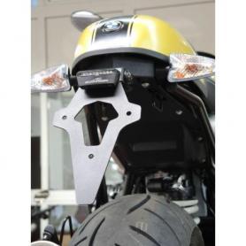 Support de plaque d'immatriculation central AC Schnitzer, avec garde-boue intérieur/combinaison de feux arrière pour BMW RnineT / RnineT Scrambler / RnineT Urban G/S