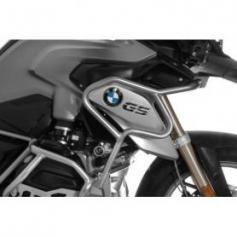 Extension de l'arceau de protection en acier inoxydable, noir pour BMW R1200GS (LC) à partir de 2017