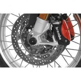 Patin de protection essieu avant (Set) pour BMW R1250GS/ R1250GS Adventure/ R1200GS (LC) / R1200GS Adventure (LC)/ R1250RT/ R1200RT (LC)
