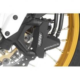 Protection pour l'étrier de frein à l'avant (jeu), inox, pour Honda CRF1100L Africa Twin / CRF1100L Adventure Sports / CRF1000L Africa Twin / CRF1000L Adventure Sports