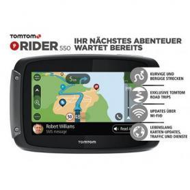 TomTom Rider 550 World, Lifetime cartes mondiales
