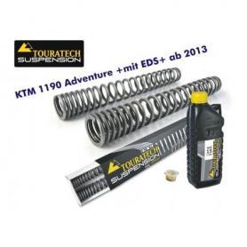 Ressorts de fourche progressifs pour KTM 1090 Adventure à partir de 2013 +avec EDS+