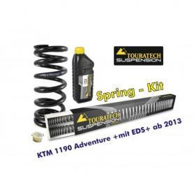 Ressorts de rechange progressifs pour fourche et ressort-amortisseur, KTM 1190 Adventure +avec EDS+ à partir de 2013 ressort de rechange