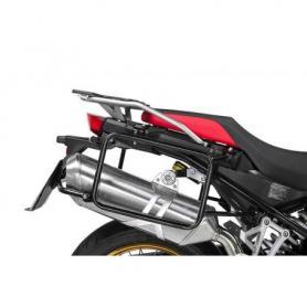 Porte-bagages en acier inoxydable, noir pour BMW F850GS/ F850GS Adventure/ F750GS