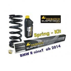 Ressorts de rechange progressifs pour fourche et ressort-amortisseur, BMW R nineT à partir de 2014 Touratech Suspension ressort de rechange
