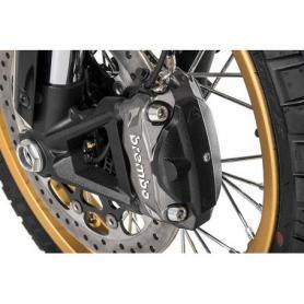Cache de l'étrier de frein à l'avant, noir pour Ducati Scrambler à partir de 2015