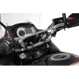 Rehausse de guidon 30 mm type 3, noir, pour Suzuki DL 650/V-Strom 650/DL1000, KTM LC4