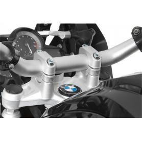Rehausse de guidon pour BMW R1250GS/ R1250GS Adventure/ R1200GS à partir de 2013/ R1200GS Adventure à partir de 2014
