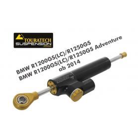 """Amortisseur de direction Touratech Suspension """"CSC"""" pour BMW R1200GS(LC)/R1250GS/BMW R1200GS(LC)/R1250GS Adventure à partir de 2014, avec kit de montage"""