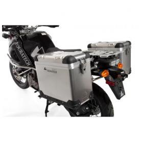ZEGA Pro sistema de maletas 31/38 litros con soporte acero inoxidable para Yamaha XT1200Z Super Tenere