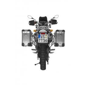 ZEGA Pro2 sistema de maletas 31/31 litro con soporte acero fino para BMW F650GS/F650GS Dakar/G650GS/G650GS Sertao