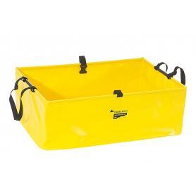 Recipiente plegable, 50 litros, amarillo, by Touratech Waterproof