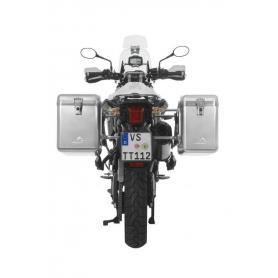 ZEGA Mundo sistema de maletas 31/38 litros con soporte acero fino para Triumph Tiger 800/ Tiger 800XC/ 800XCx