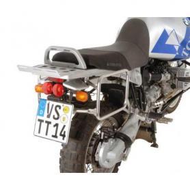 Support de coffres pour coffre en alu Zega Pro pour BMW R1150GS/ R1150GS Adventure/  R1100GS/ R850GS acier inoxydable