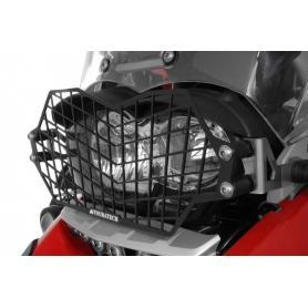Protección de faro de acero inoxidable y cierre rápido para BMW R1200GS hasta 2012 y R1200GS Adventure hasta 2013