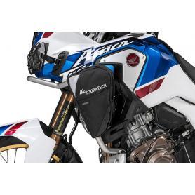 Bolsas Ambato para estribo de protección original para Honda CRF1000L Africa Twin/ CRF1000L Adventure Sports, (1 par)