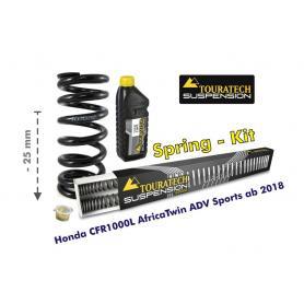 Ajuste de suspensión en 25mm Honda CRF1000L Africa Twin Adventure Sports desde el año 2018 muelles de intercambio